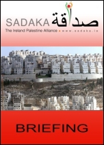 Sadaka Publications - Settlements – ending trade and investment in war crimes (Click now to download Briefing)