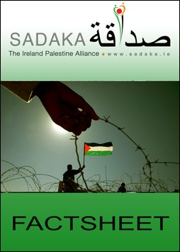 Sadaka Publications - Palestine October 2015 (Click now to download Factsheet)