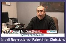 Israeli repression of Palestinian Christians