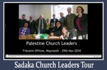 Palestinian Church Leaders Tour of Ireland 2010